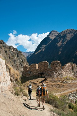 The Inca Trail to Machu Picchu. Photo by Christian Haugen (flickr)