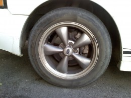 "17"" OEM Bullitt wheelwith 245/45/17 all-season tires"