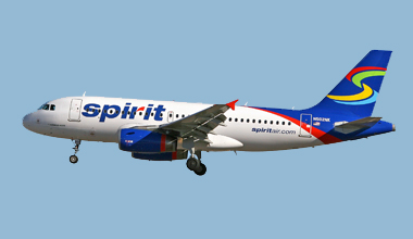 Spirit Airlines Cheap Flights to Costa Rica