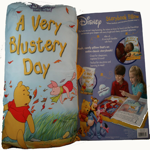 Winne the Pooh Story Book Pillow