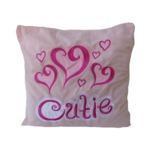 Girls Cutie Plush Pillow
