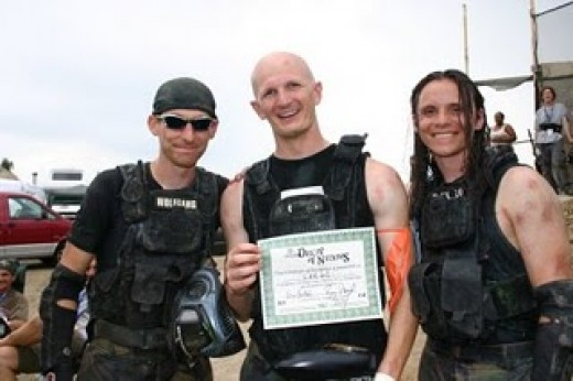 The Cartell, some daring paintballers!
