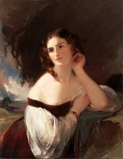 Famous British actress Fanny Kemble