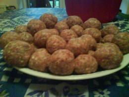 Here we have three delicious recipes for meat balls. What are your favorite meatballs?