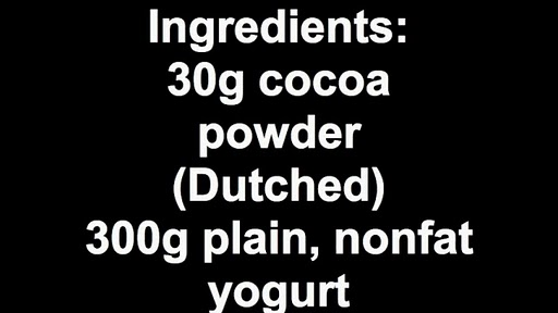 The ingredients are simple enough