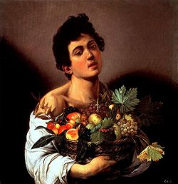 Boy with a Basket of Fruit (1593-94)