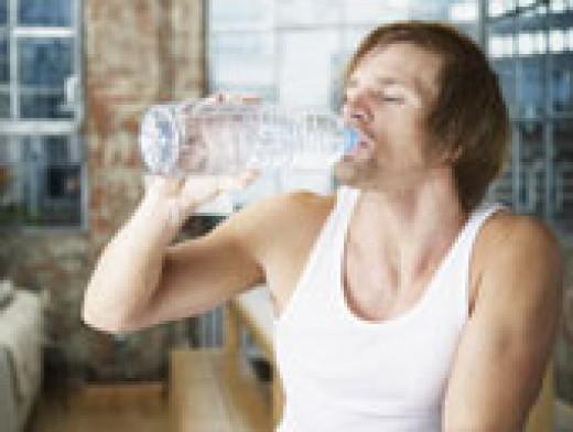 Bottled water is so popular.
