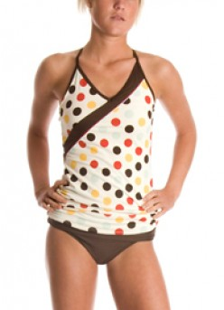 This Polka Dot cutie is no doubt ready for fun in the sun.