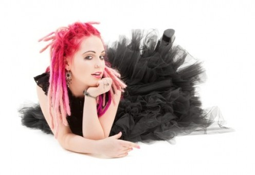 The pink hair dye will last longer on bleached hair because the bleaching