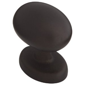 Stanley Home Designs 824391 Egg Shaped Knob 10-Pack, Oil-Rubbed Bronze