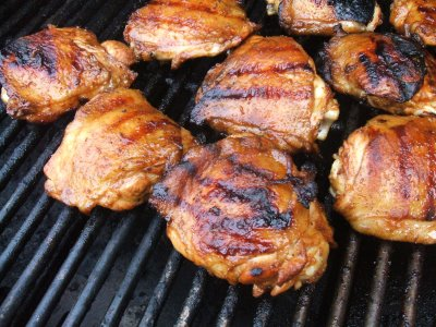 Here were going to be making the best recipe ever for grilled barbecue chicken. Its so delicious and easy to make.