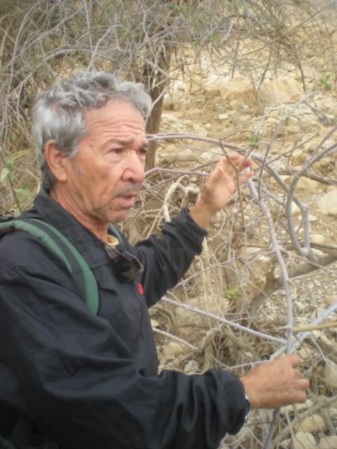 Dr. ELI RAZ, leading geologists on DEAD Sea Sinkhole Project (Photo courtesy of http://funjoelsisrael.com/)