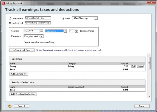 Assigning Tax Line Items To Categories In Quicken For Mac