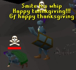 Runescape Players getting a Player Kill.
