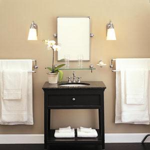 Bathroom with Sconces