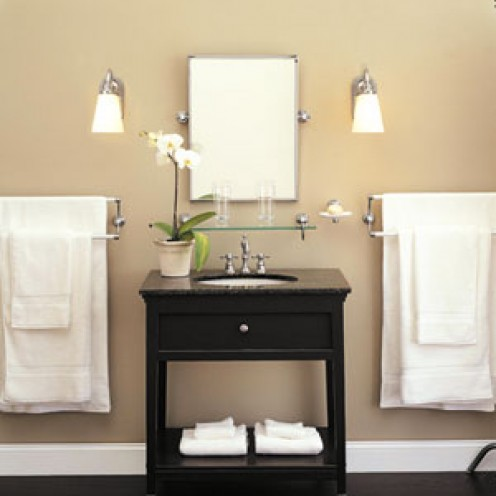 Bathroom with Sconces