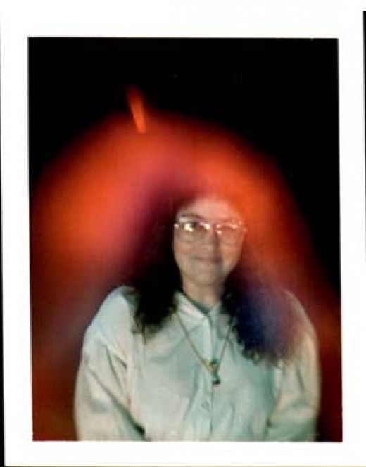 There are a great many clairvoyant people who can see auras such as this one here.  Generally though, they tend to keep their abilities to themselves.