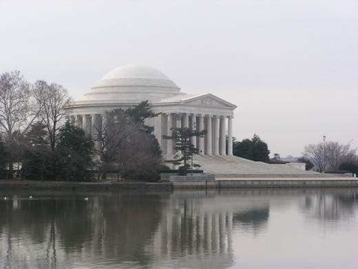 Jefferson Memorial, Washington, DC. Copyright Tia D. Peterson. May not be re-used without permission.