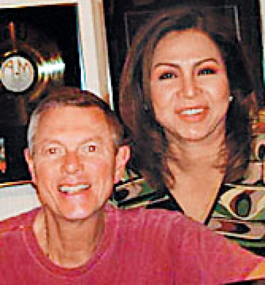 Claire de la Fuente & Richard Carpenter (Photo courtesy of http://www.philstar.com/)