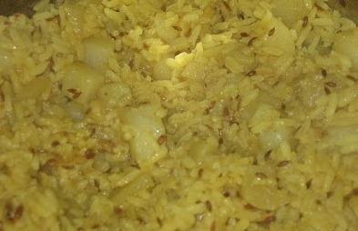 Aloo Pulao Recipe - Ingredients and Preparation Method of Potato Rice