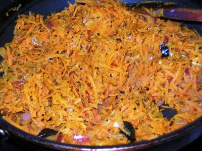Carrot Rice Recipe - Ingredients and Method of Preparation