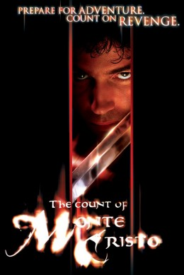 "Poster for the 2002 movie version of ""The Count of Monte Cristo"""