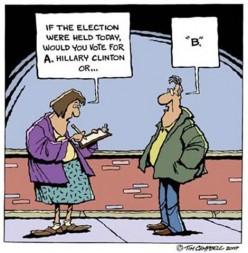 Just one political joke...