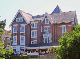 Lampeter Hotel, Bournemouth, Dorset, England