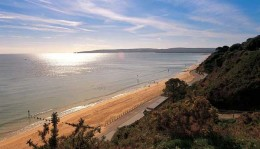 Beach at Sandbanks, Bournemouth