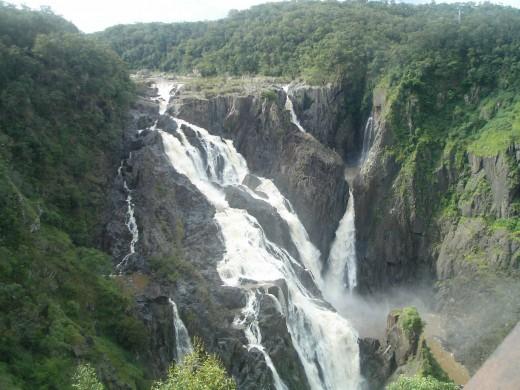 The mighty Barron Falls, Kuranda