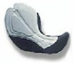 The internal chamois sewn into the seat of the short.
