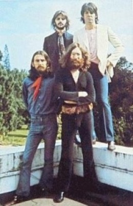 Something strange happened to the Beatles...