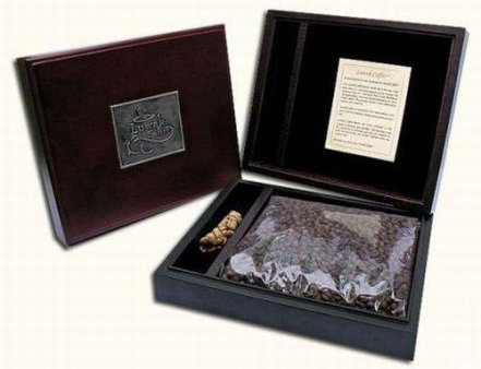 Civet coffee in luxurious package. Picture: The most- expensive.net