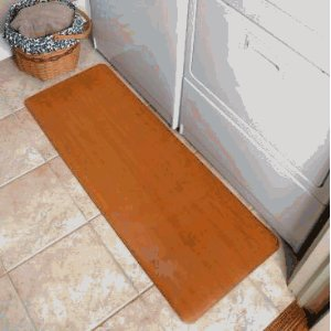 "Anti Fatigue Floor Mat - 18x48 - Oak Finish (Oak Wood) (.50""H x 18""W x 48""D)"