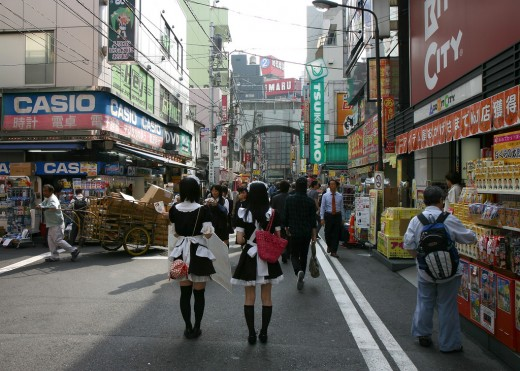 Akihabara - the spiritual home of the Otaku