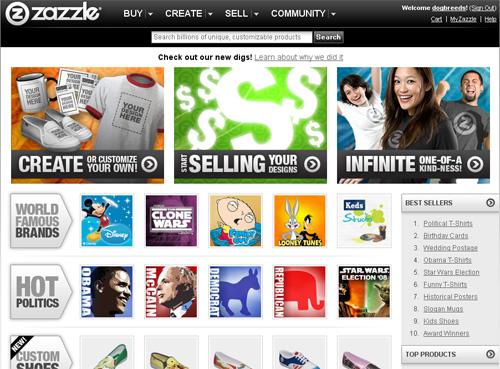 Make Money With Zazzle.