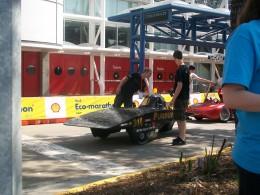Purdue University's solar car