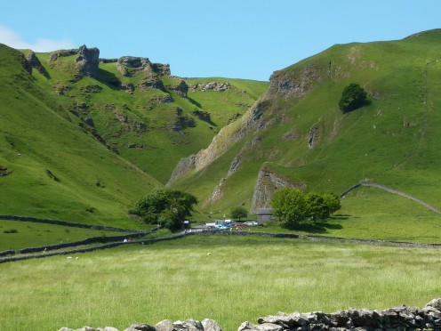 The Winnats Pass, Castleton