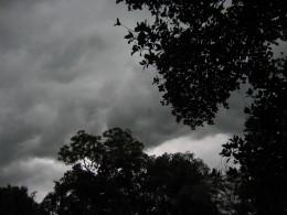 dark ominous clouds