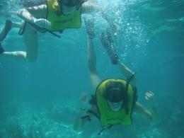 underwater, snorkeling fun