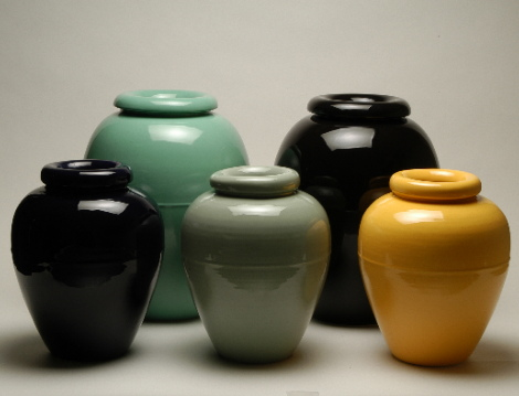 Bauer Pottery: Oil Jars