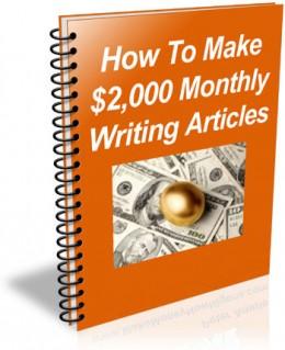 Earn money by writing online