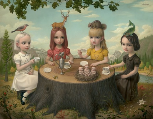 Allegory of the Four Elements - Mark Ryden