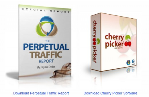Free Download Perpetual Traffic Formula + Cherry Picker Software - Free SEO Tools Download