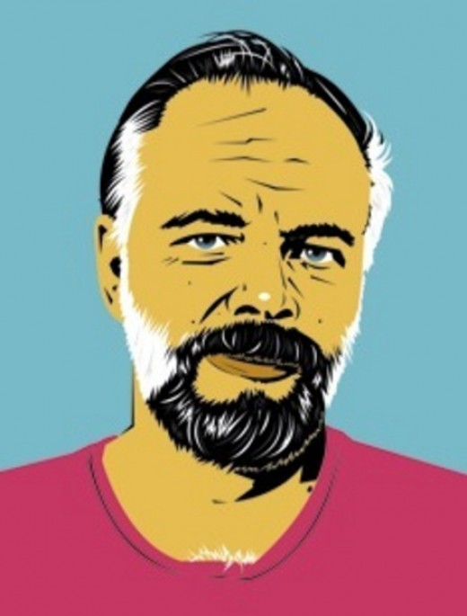 Portrait of Philip K. Dick Credit: p373 Copyright: Creative Commons Attribution-Share Alike 2.0 Generic