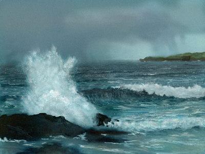 Stormy Sea, copyright Graham Jones