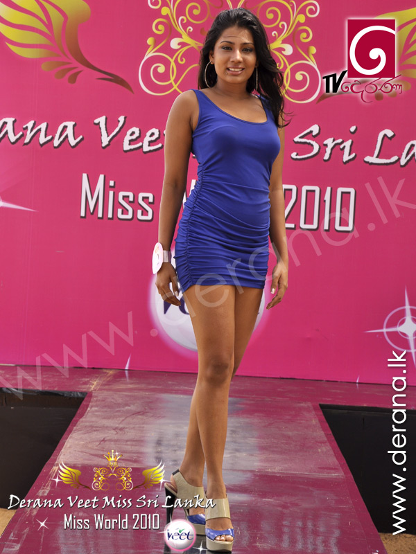 Miss Smoothest Skin 2010 at Derana Veet Miss Sri Lanka 2010