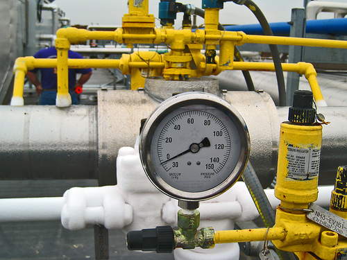 Ammonia refrigeration system should be monitored for any leaks.