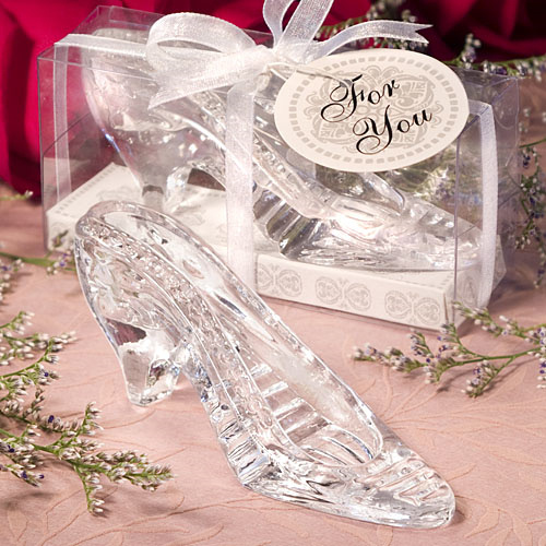 Glass Slipper Quinceanera Favors from Wedding Favors Unlimited