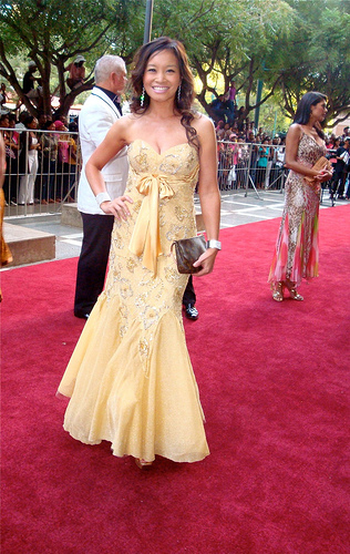 Hollywood red carpet theme - Image by Jennifer Su on Flickr